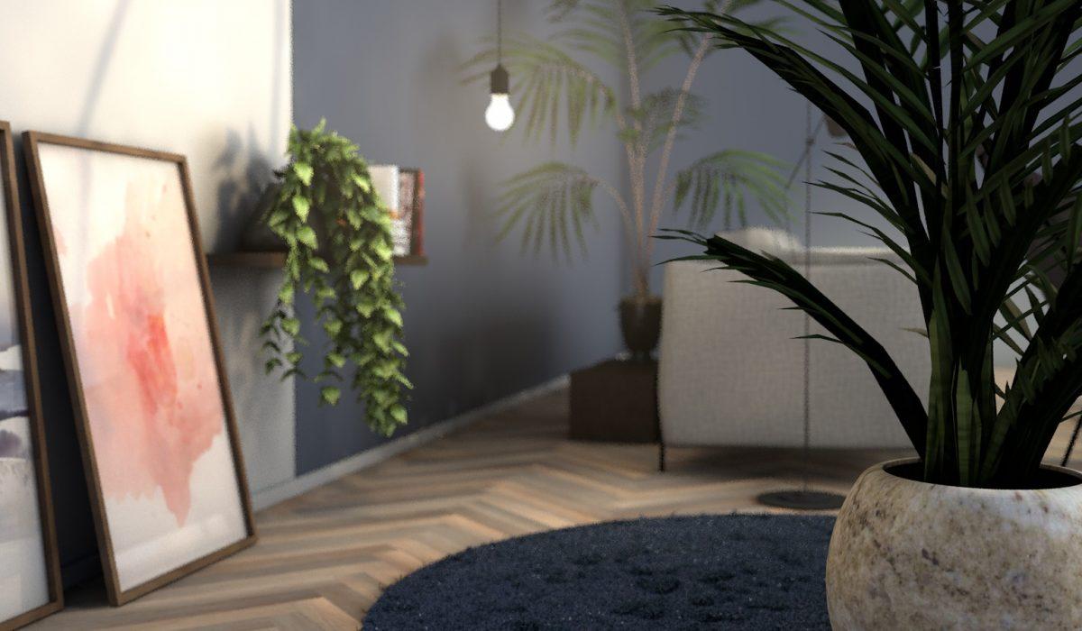 Klik Visualisatie - Livingroom