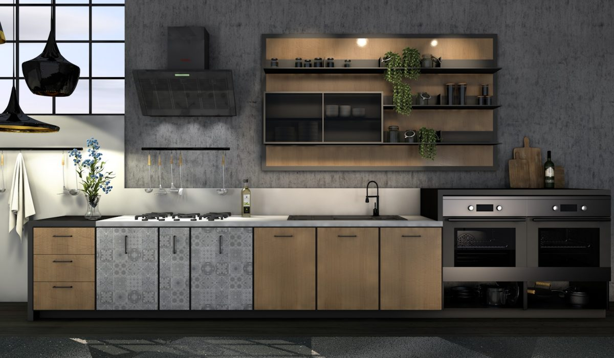Klik Visualisatie - Kitchen